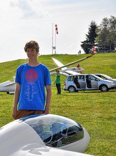Frisch gebackener  Pilot:  Daniel Strohmeier  Foto: zVg Foto: Markgräfler Tagblatt