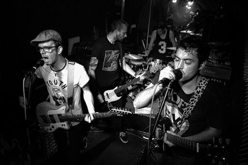 """Mit dabei ist unter anderem die Band """"The Maladro!ts"""" (Pop/Punk) aus Schopfheim. Foto: Ruth Krayer"""